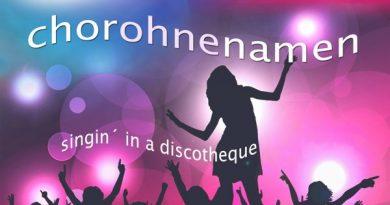 Singin' in a discotheque Konzert Chorohnenamen Alte Schachtel Konstanz